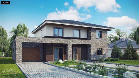 casas modernas planta baja fachada de casa con ideas modelos fachadas casas modernas