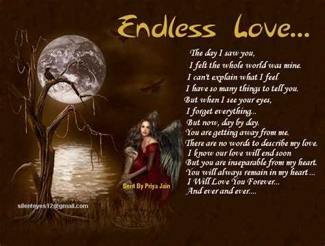 what happens at the end of endless love designer poetry x clusive