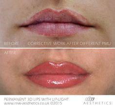 lip liner tattoo aberdeen 3d permanent lips with lip light esther prater