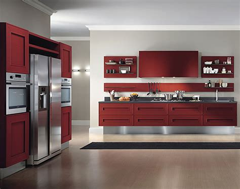 kitchen cabinets black tagged red