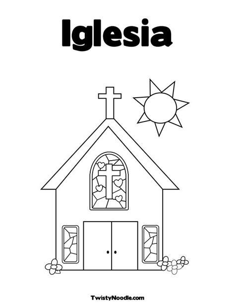 imagenes de una iglesia para colorear una iglesia colouring pages