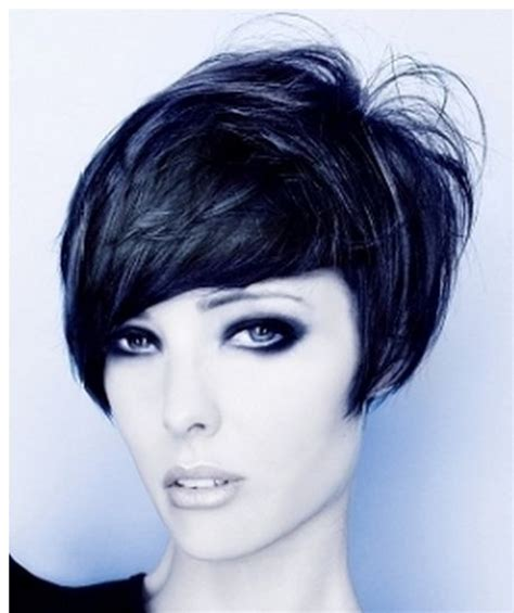 extremely short in back with bangs 59 best bobs images on pinterest short cuts hair beauty
