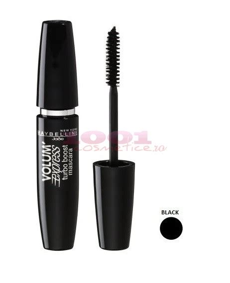 Maskara Maybelline Turbo Boost maybelline mascara volum express turbo boost