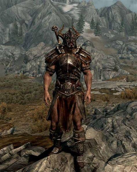 skyrim nexus male armor nord armor remake at skyrim nexus mods and community