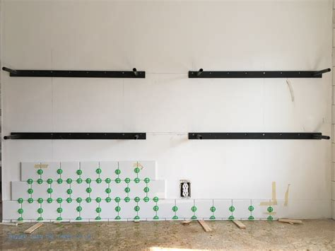 Modern Wall Shelf by How To Install Heavy Duty Floating Shelves For The