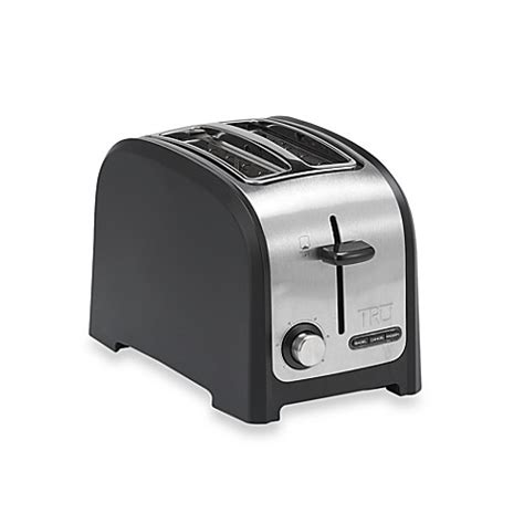 toaster bed bath and beyond buy tru 2 slice toaster from bed bath beyond