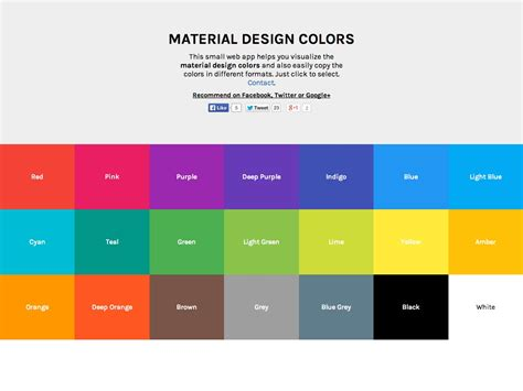 material design color schemes what s new for designers january 2015 webdesigner depot