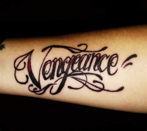 vengeance tattoo vengeance by maga a7x on deviantart
