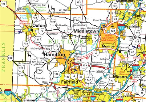 Butler County Ohio Records Browsing Through Butler County Maps Pictures More