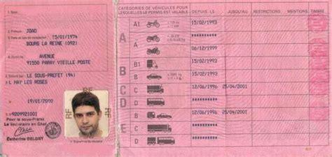 Ton Sur Le Permis Permis B Voiture Prã Fecture De De Bureau Des Permis De Conduire