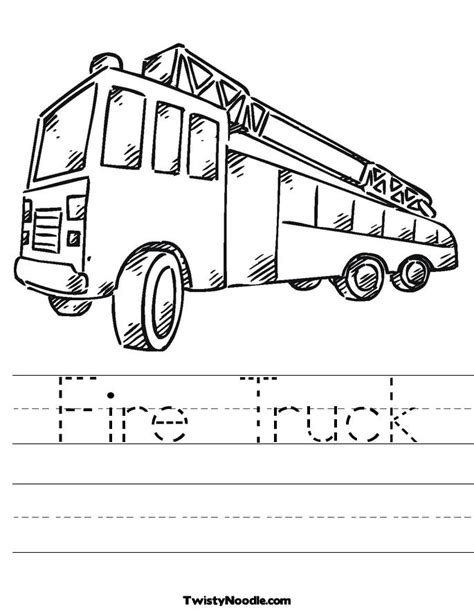 coloring page of a fire truck fire engine coloring pages for kids az coloring pages