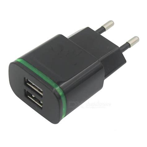 Charger Carger Lenovo Original Fast Charging 5v 2er Populer usb 2 0 2 port 5v 2a fast charging eu power charger black free shipping dealextreme