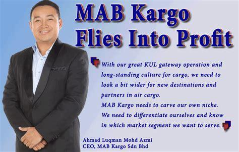 mab kargo flies  profit