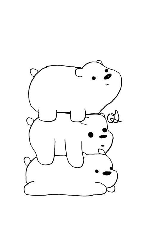 desenho para pintar urso sem curso - Plasko Interactive