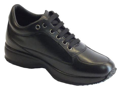 scarpe zeppa interna scarpe lumberjack donna zeppa interna pelle nera lacci