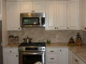 Elegant Kitchen Backsplash Ideas Elegant Travertine Backsplash Image Ideas For Kitchen