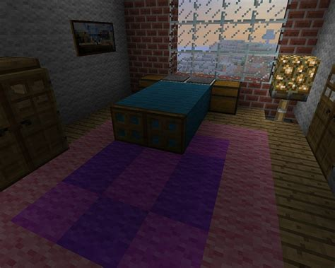 minecraft bed ideas minecraft furniture bedroom