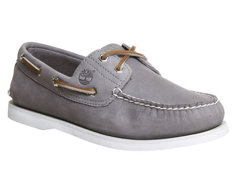 gray boat shoes timberland new boat shoe grey nubuck casual