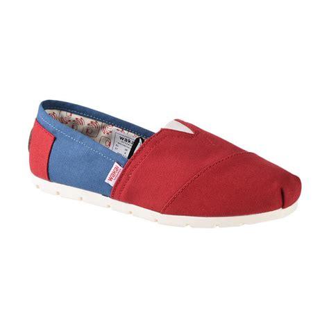 Sepatu Murah Wakai Slip On Wanita Maroon Abu Made In Japan jual wakai wak cw01702 chuo sepatu wanita navy maroon harga kualitas terjamin