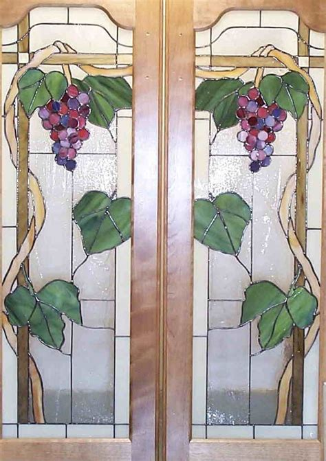 Painting Glass Panel Doors Stained Glass Door Painting On Glass