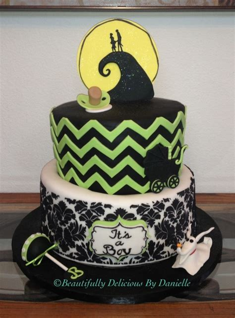 Nightmare Before Baby Shower Cake by Discover And Save Creative Ideas