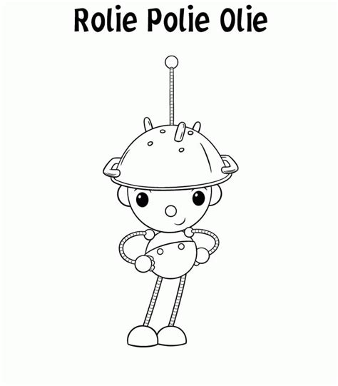 Rolie Polie Olie Happy Coloring Pages Coloringpagesabc Com Rolie Polie Olie Coloring Pages