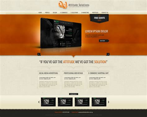 Website Design Templates Cyberuse Web Layout Templates