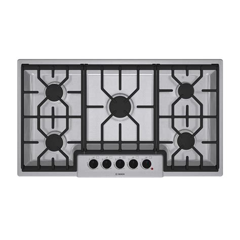 Bosch Gas Cooktop Review enlarged image