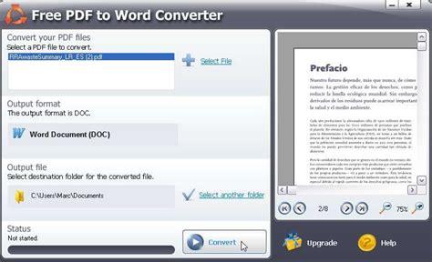 logiciel qui convert pdf to word convertir un document pdf en word