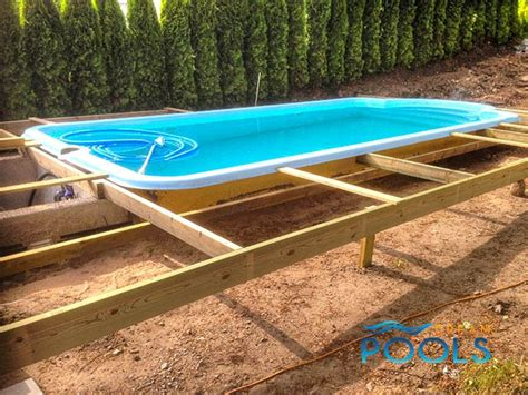 Best Home Pools by Dreampools The Best Quality Fiberglass Pool Assembly