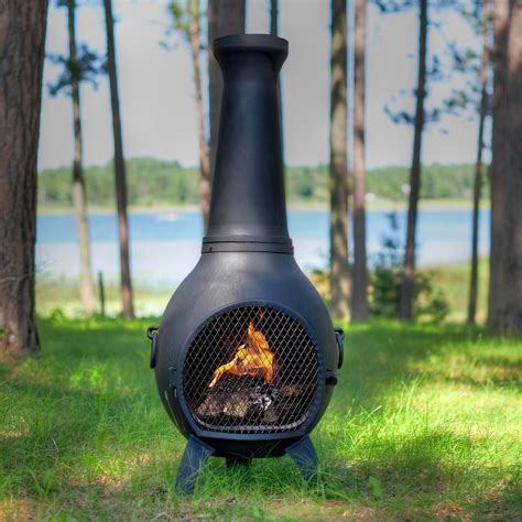 great chiminea options to enhance your patio teak patio