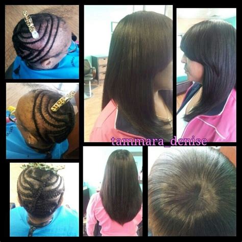 no edges sew in pin by tammara chamberlain on hair by tammara pinterest
