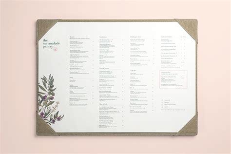 marmalade pantry menu of the menu the marmalade pantry
