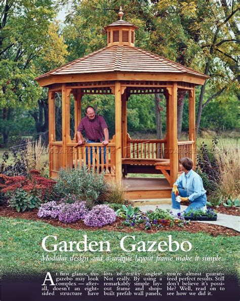 outdoor gazebo designs garden gazebo plans woodarchivist