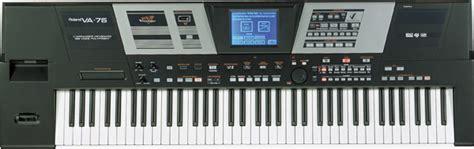 Keyboard Roland Va 76 roland va 76 v arranger keyboard