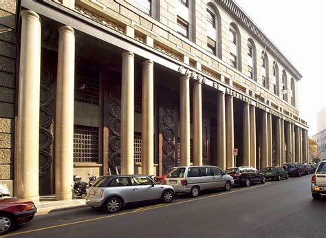 bnl napoli sede centrale brera le catenelle al palazzo delle colonne