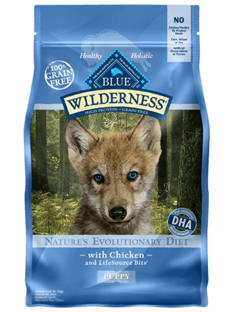 blue buffalo wilderness puppy food blue wilderness 174 puppy food chicken recipe