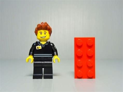 Sale Lego 5001622 Lego Store Employee lego 5001622 lego shop employee promotional polybag review