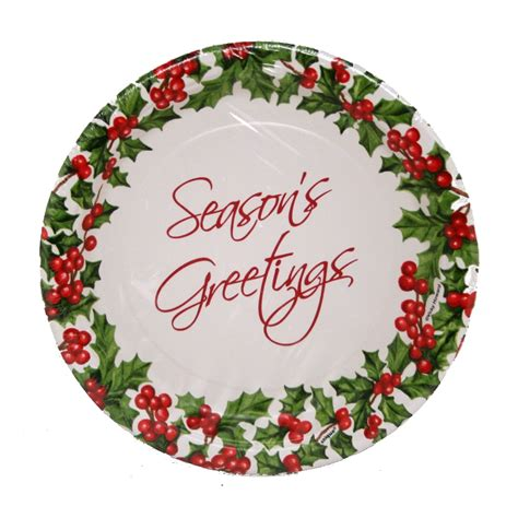 7 quot christmas paper plates partysuppliesdelivered