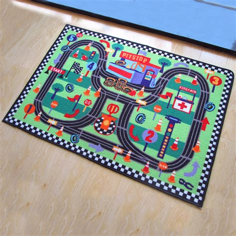 Floor Area Rug Baby Kids Child Play Mat Anti Slip Bedroom Child Area Rug