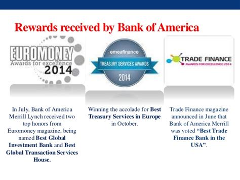 bank of america finance bank of america presentation