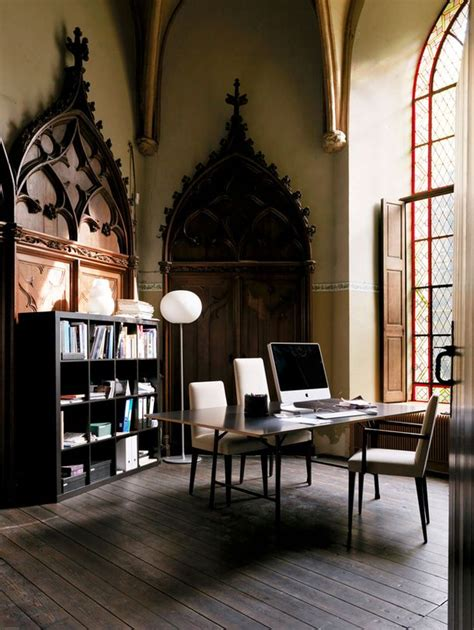 gorgeous home decor 21 gorgeous gothic home office and library d 233 cor ideas