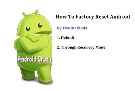 resetting battery on android how to reset android phone to hard or factory settings