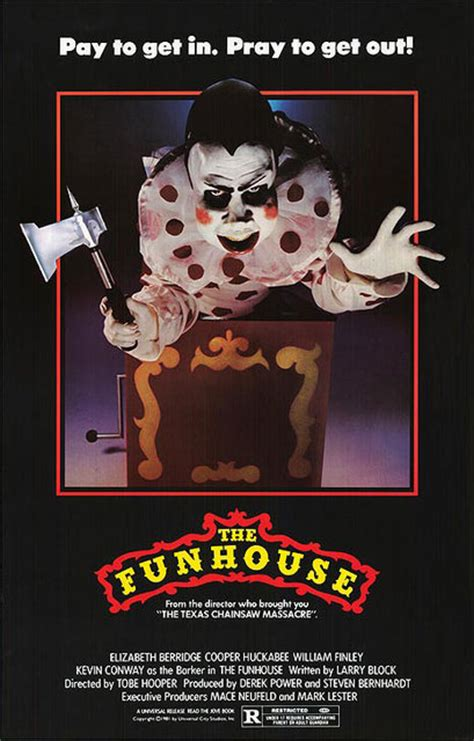 the fun house this week in horror movie history the funhouse 1981