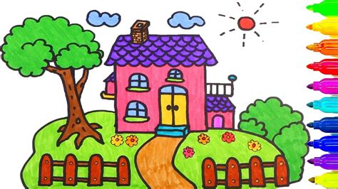 design a house for kids how to draw a house for kids house plan 2017