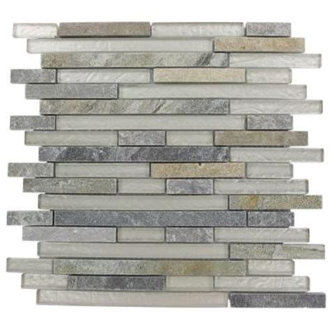 splashback glass tile tectonic harmony green quartz slate