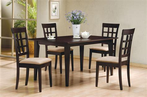 Cappuccino Dining Room Furniture Collection Mix Match Cappuccino Dining Room Set From Coaster 100771 Coleman Furniture