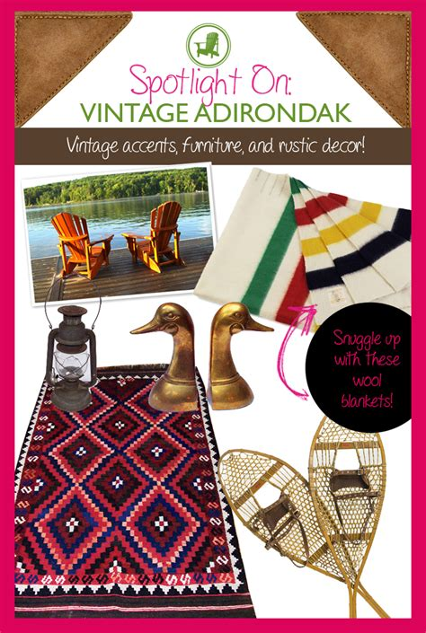 Adirondack Home Decor spotlight on vintage adirondack a new shop for antiques