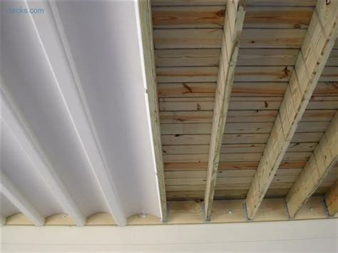 Under Deck Enjoy The Area Even On Rainy Days Pinteres Deck Ceiling Material