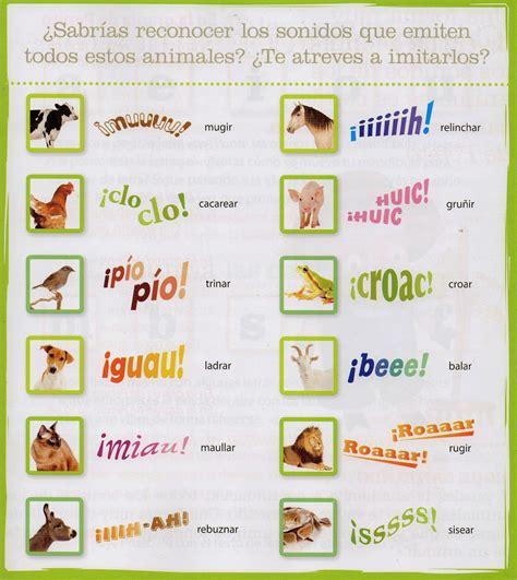 imagenes de animales y sonidos educaci 211 n infantil curso 2013 2014 marzo 2014